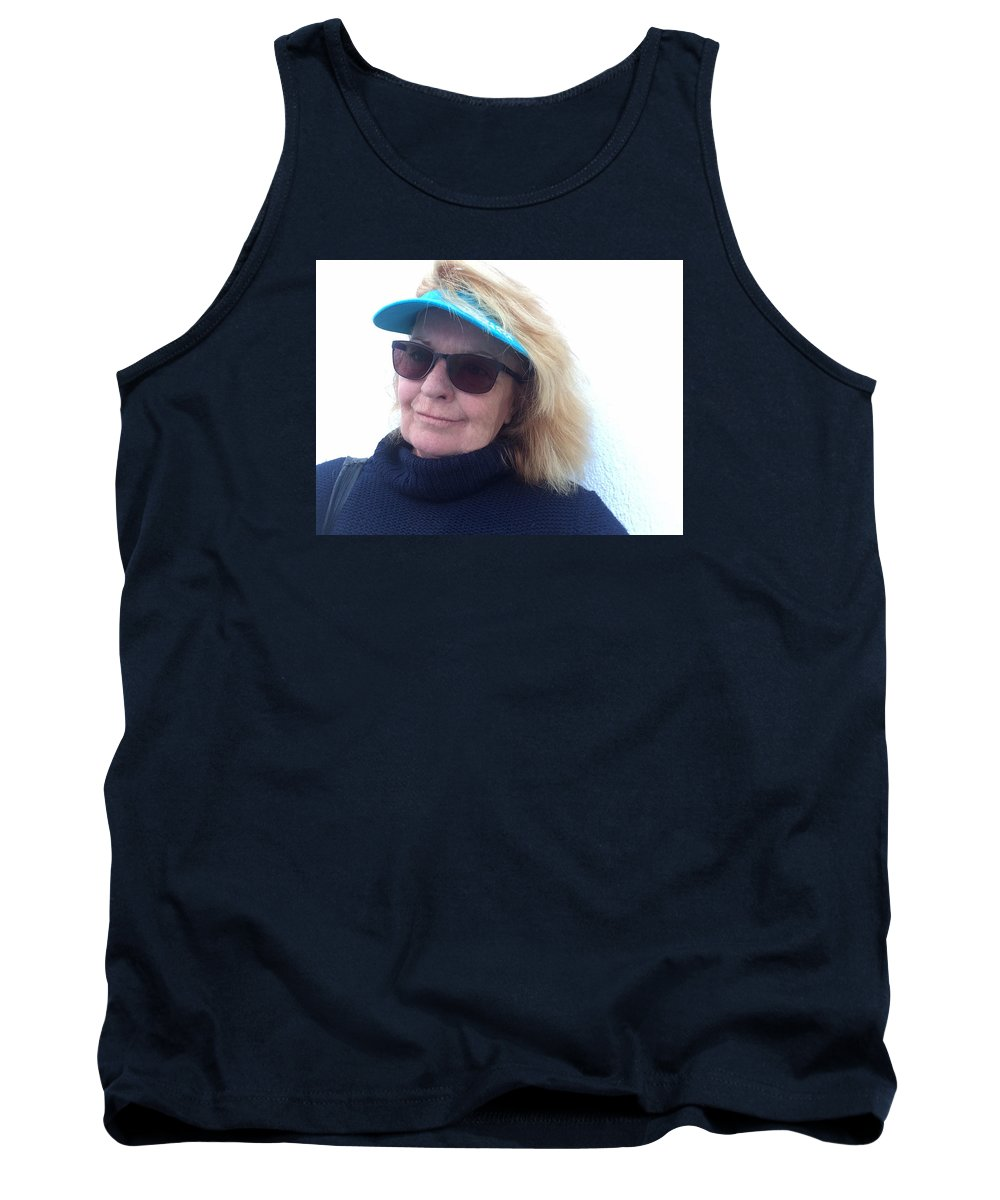 Colette Tank Top featuring the photograph Joy On Paros Island Greece by Colette V Hera Guggenheim