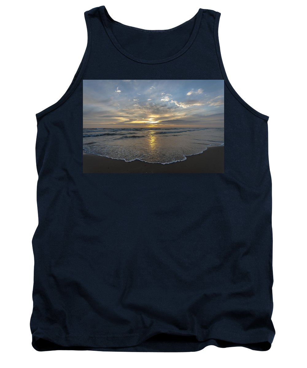 Sea Tank Top featuring the photograph July 2015 Sunset Part 1 by Alex Hiemstra