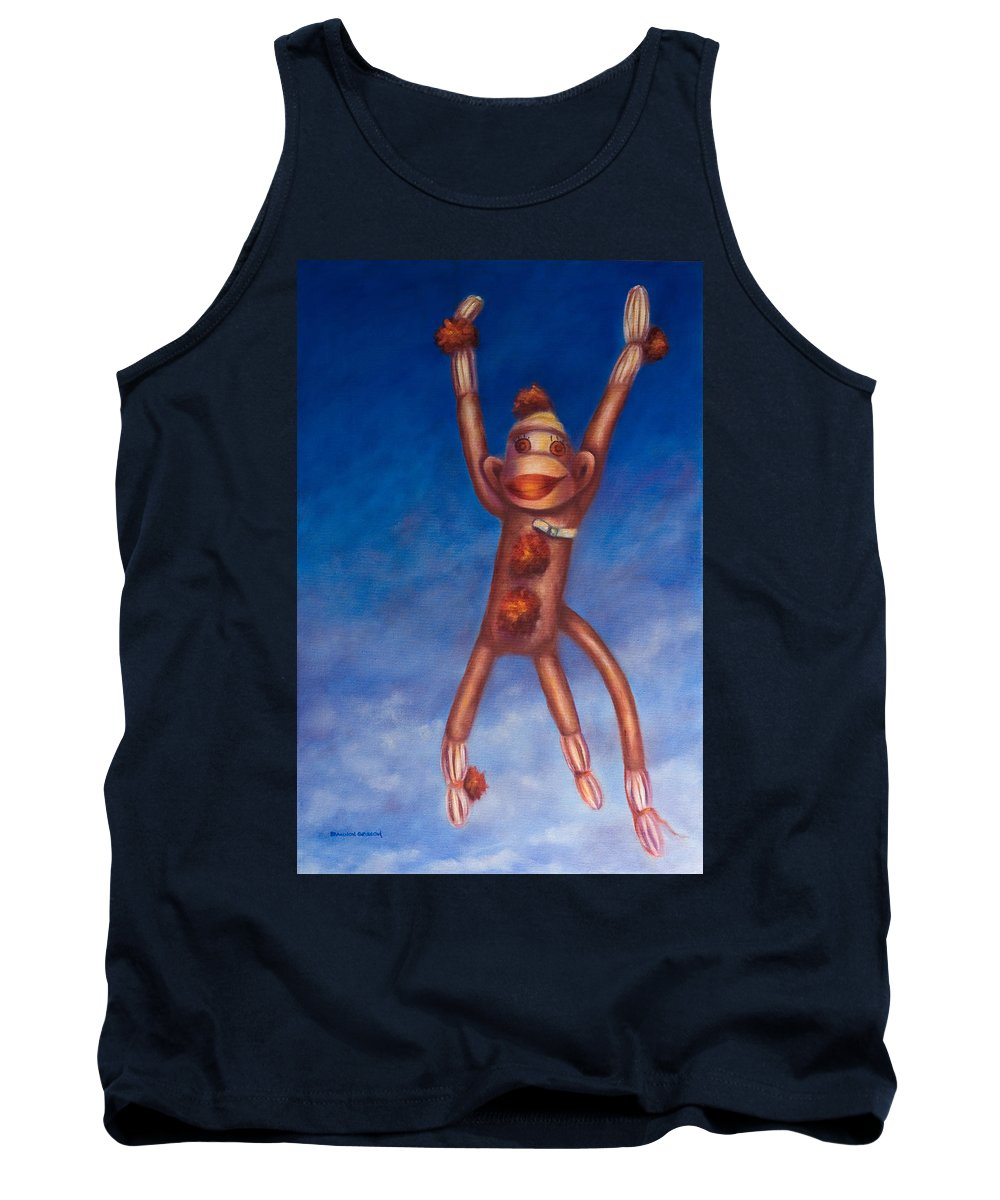 Children Tank Top featuring the painting Jump For Joy by Shannon Grissom