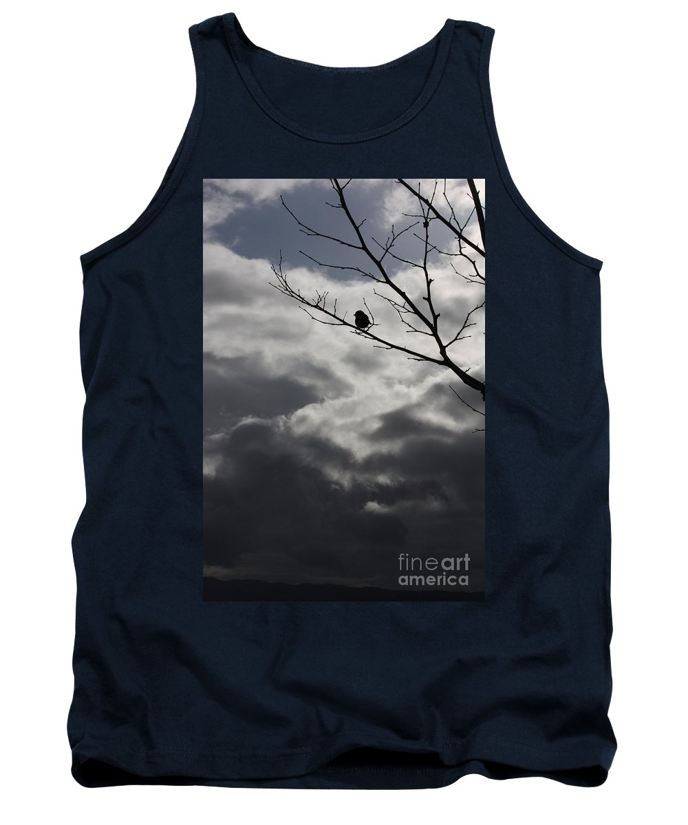 Storm Tank Top featuring the photograph Keeping Above The Storm by Carol Groenen