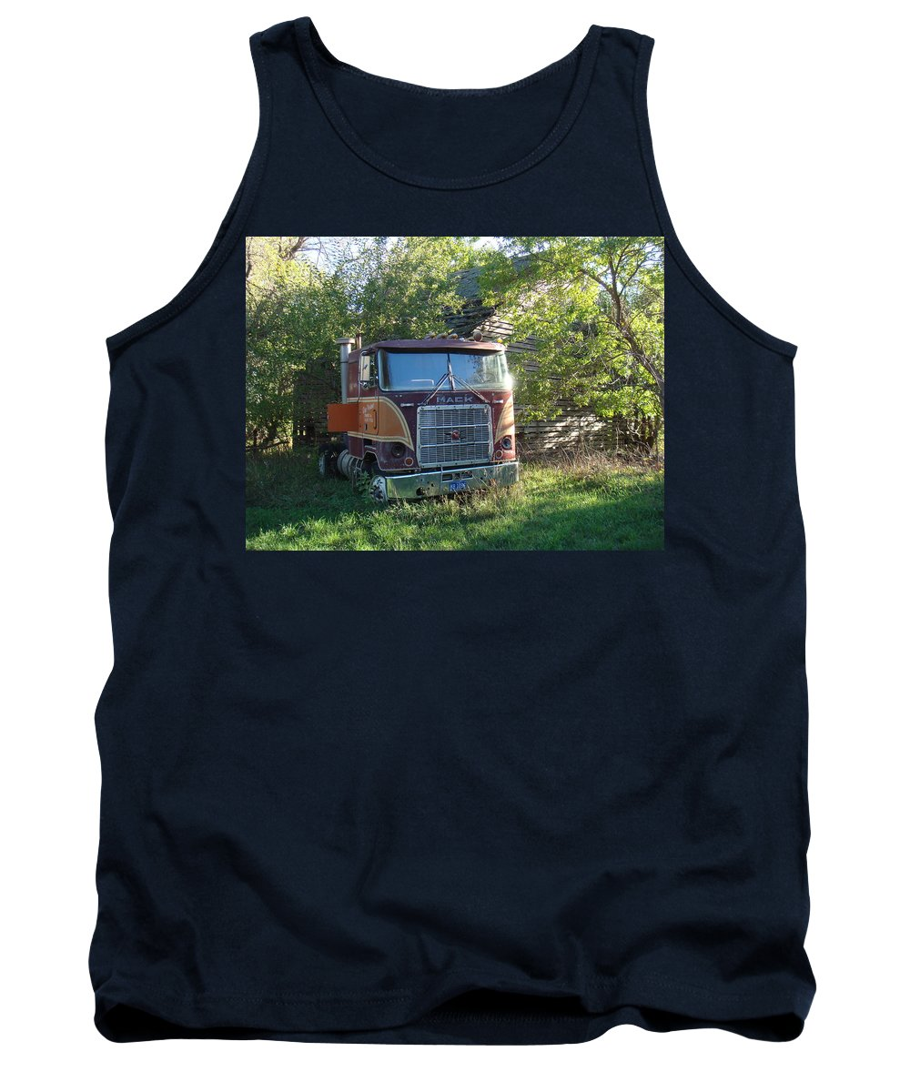 Mack Tank Top featuring the photograph Last Ride by Bonfire Photography