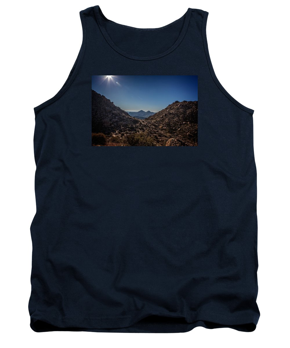 Arizona Tank Top featuring the photograph Lookout Point by Dennis Eckel