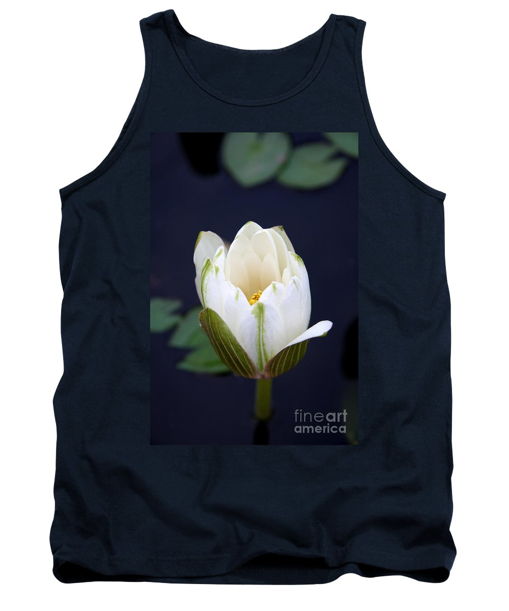 Waterliy Tank Top featuring the photograph Loveliness by Christiane Schulze Art And Photography