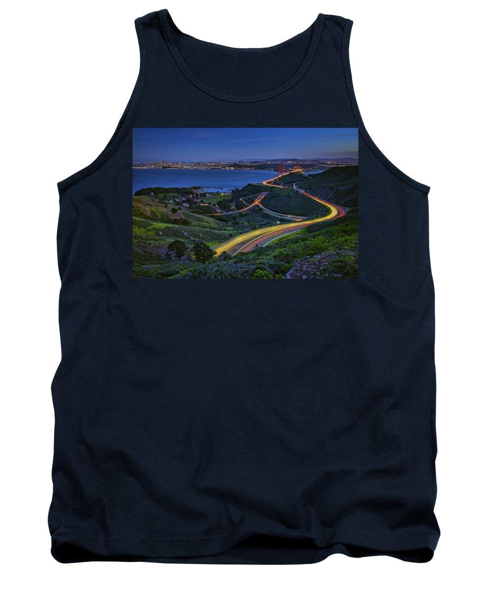 San Francisco Tank Top featuring the photograph Marin Headlands by Rick Berk