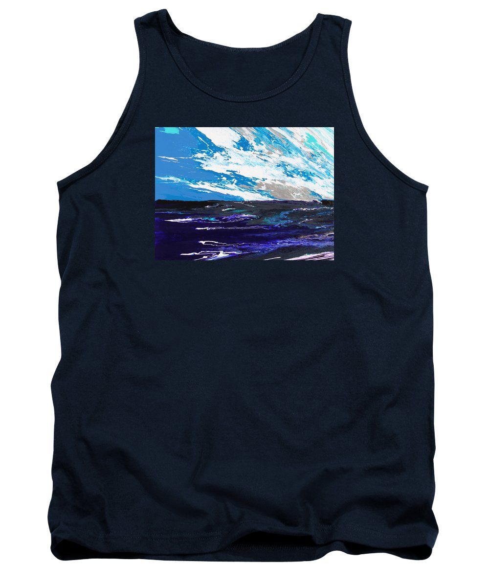 Fusionart Tank Top featuring the painting Mariner by Ralph White