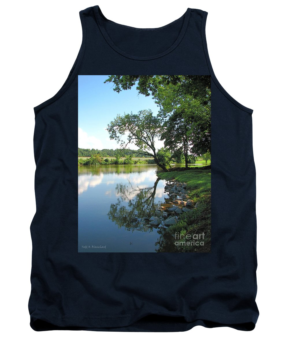 Landscape Tank Top featuring the photograph Mirror Image by Todd Blanchard