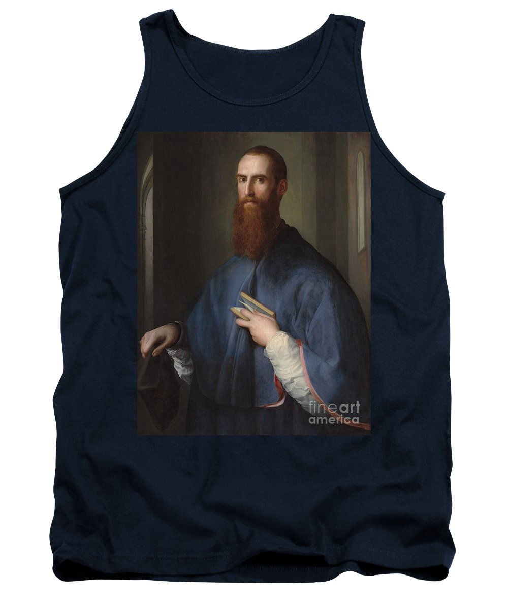 Tank Top featuring the painting Monsignor Della Casa by Pontormo