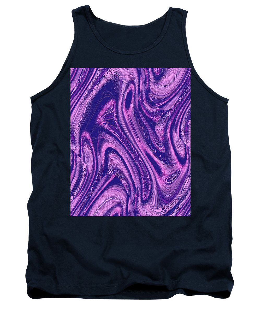 Moveonart! Digital Gallery Tank Top featuring the digital art Moveonart True Color Of The Conversation by Jacob Kanduch