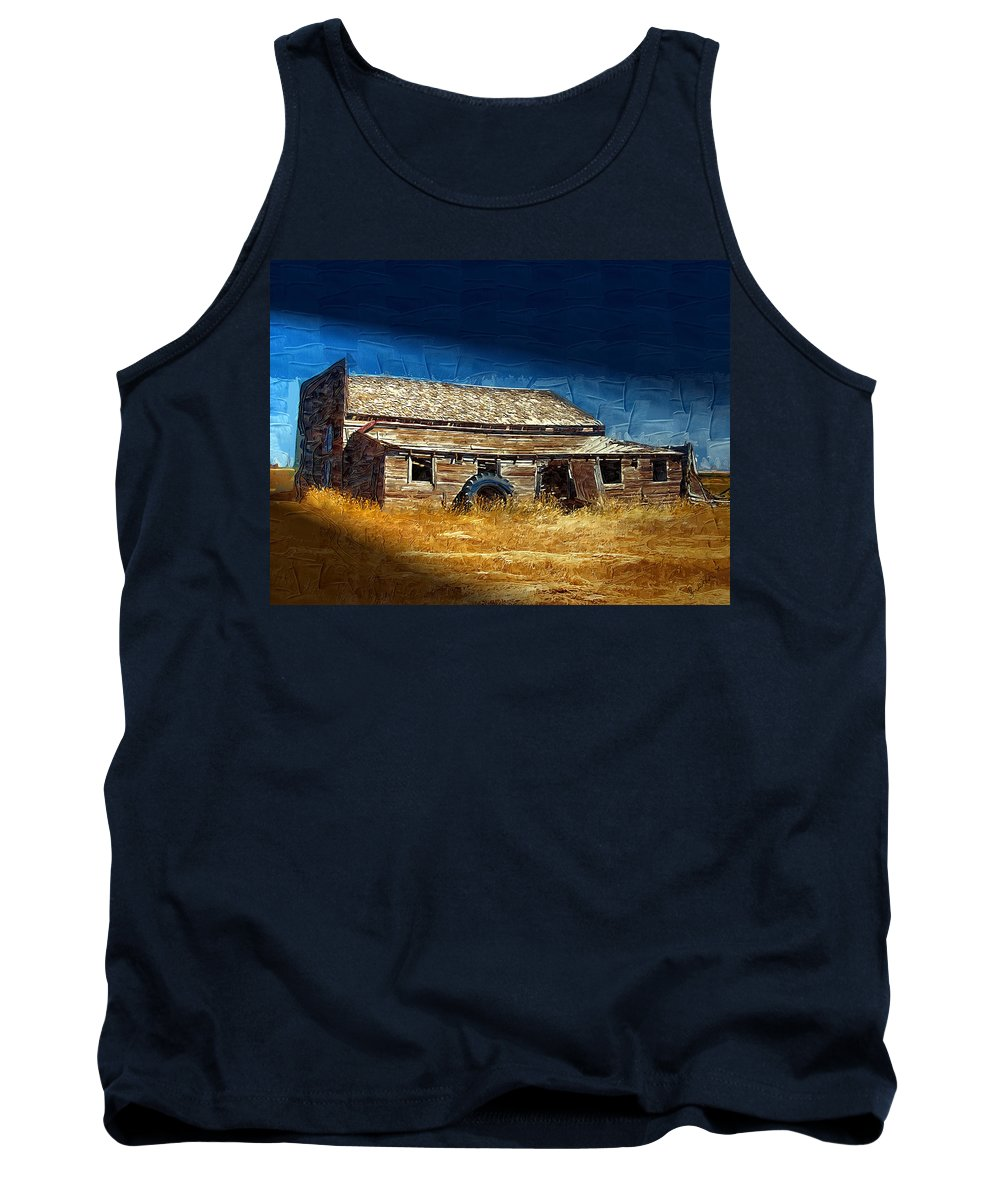 Window Tank Top featuring the photograph Night Shift by Susan Kinney