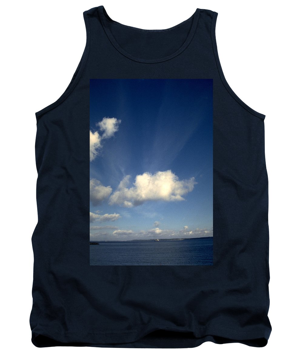 Northern Sky Tank Top featuring the photograph Northern Sky by Flavia Westerwelle
