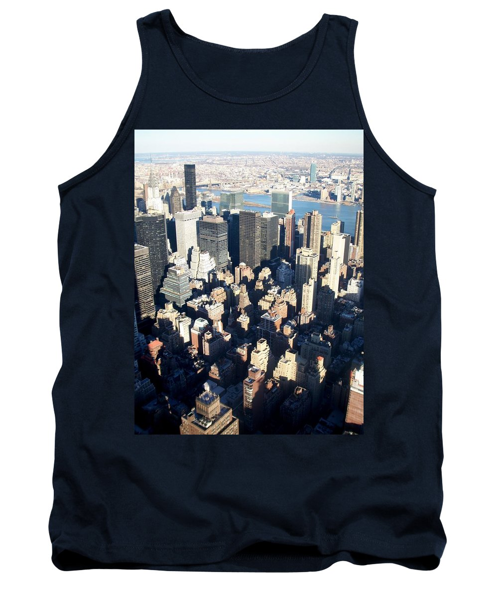 Nyc Tank Top featuring the photograph Nyc 4 by Anita Burgermeister