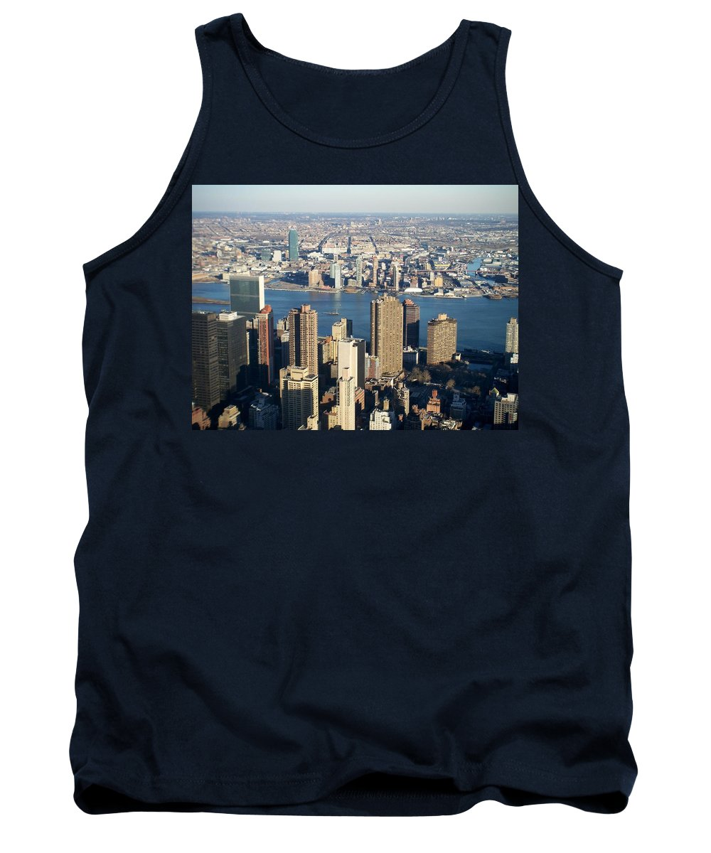 Nyc Tank Top featuring the photograph Nyc 6 by Anita Burgermeister