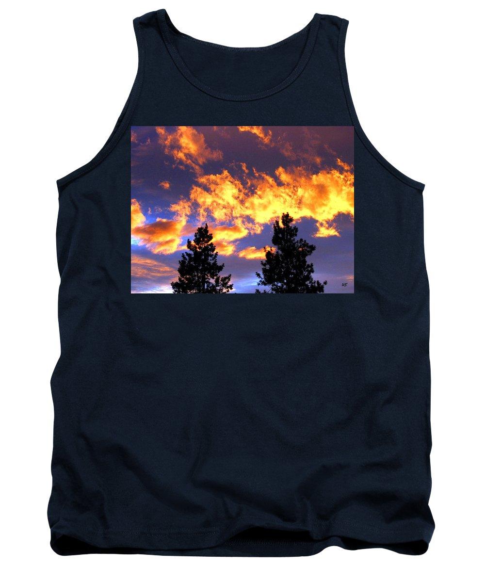 Sunset Tank Top featuring the photograph Okanagan Sunset by Will Borden