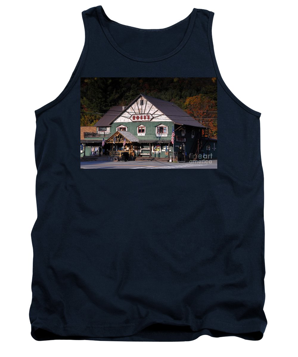 Old Store Tank Top featuring the photograph Old Hoss's by David Lee Thompson