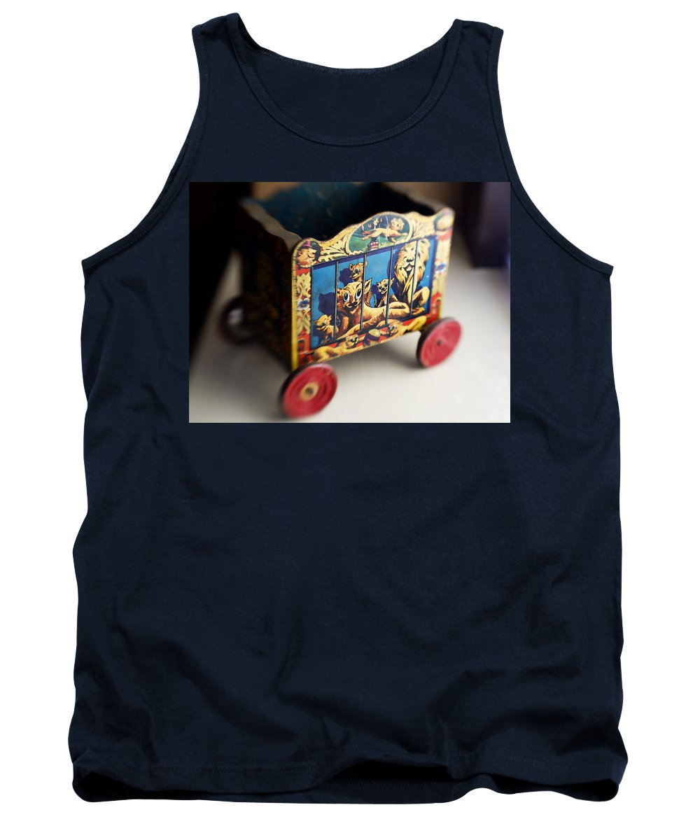 Americana Tank Top featuring the photograph Old Toy by Marilyn Hunt
