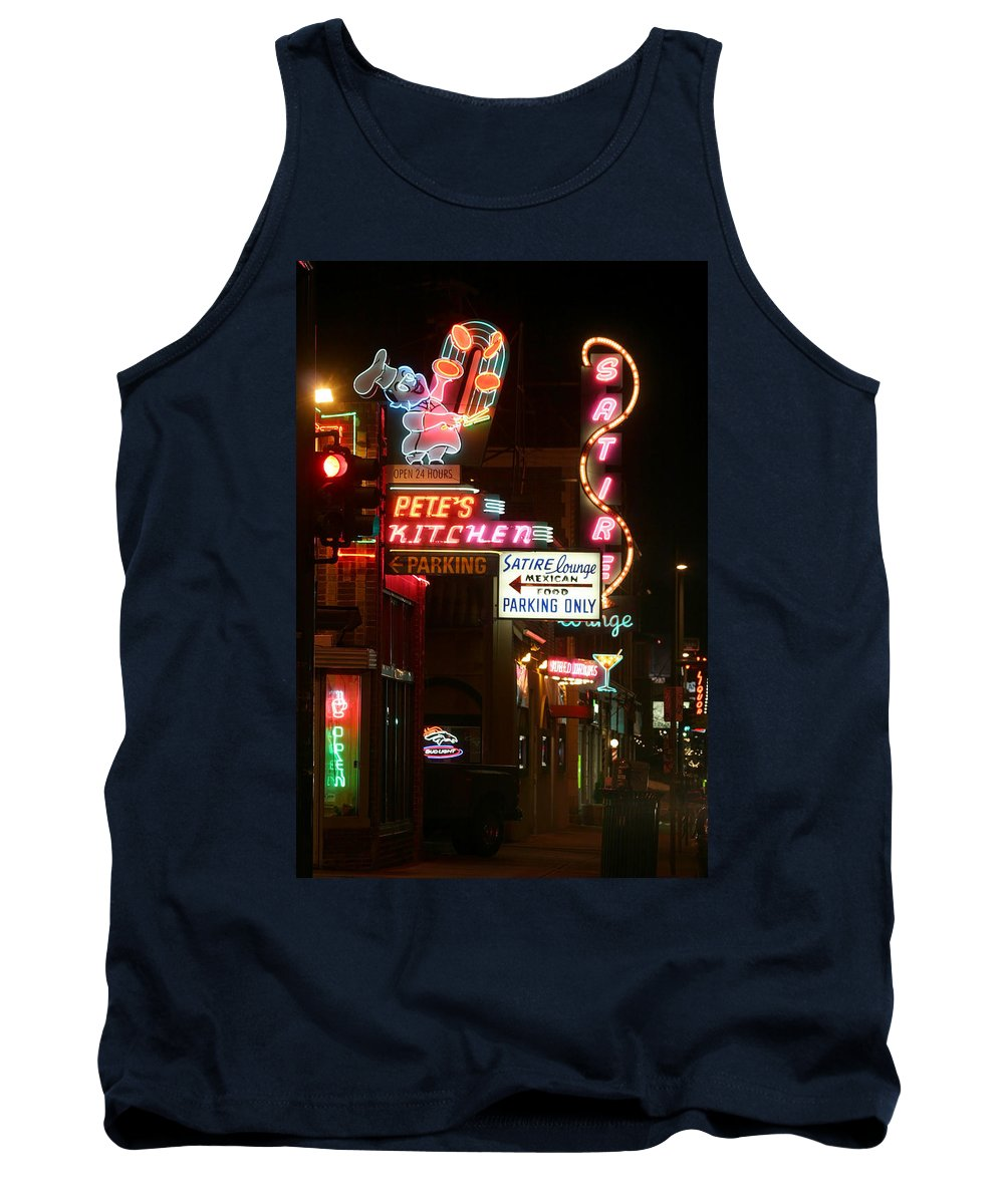 Pete's Tank Top featuring the photograph Pete's Kitchen by Jeffery Ball
