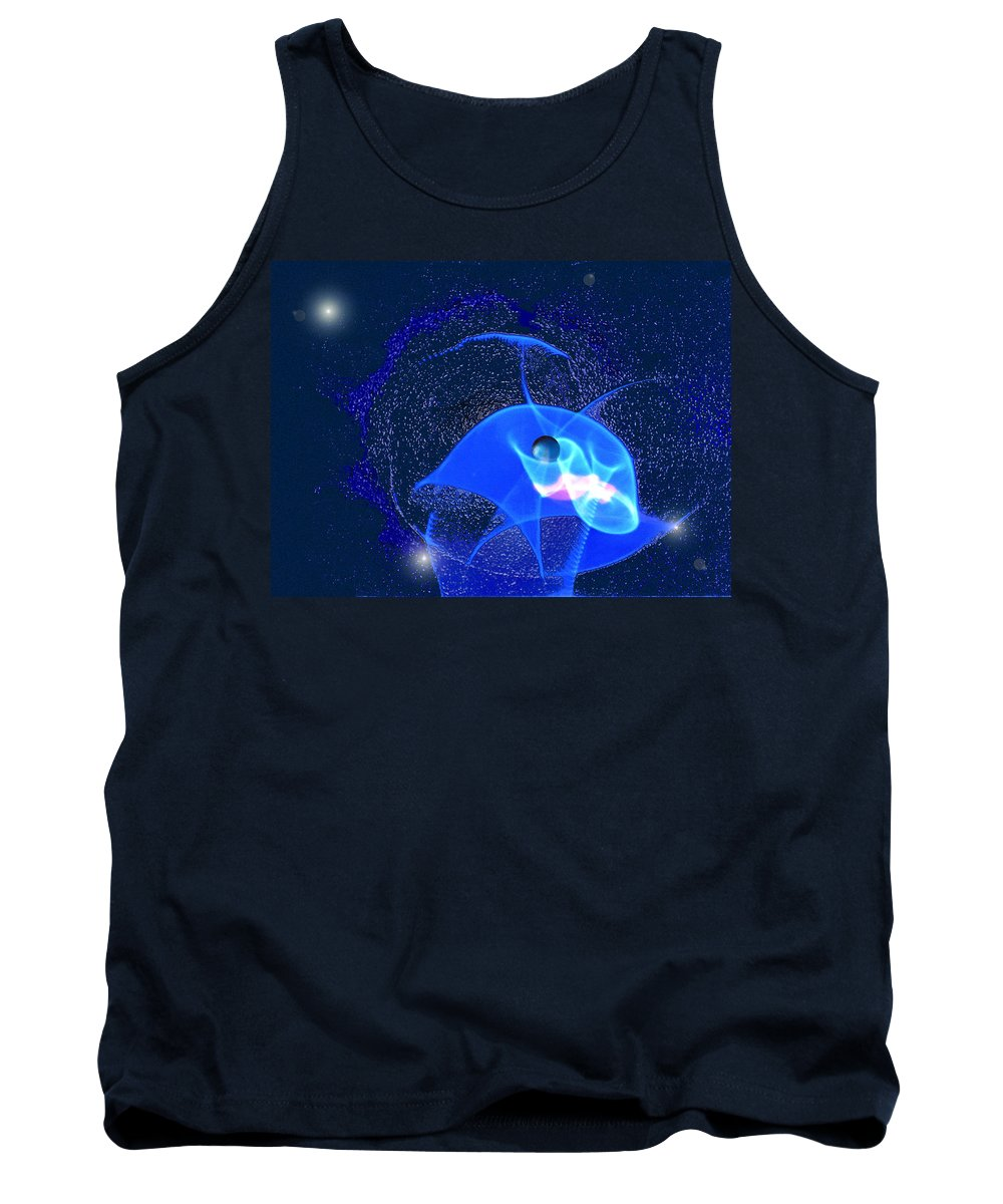 Space Tank Top featuring the digital art Phenomenon by Steve Karol