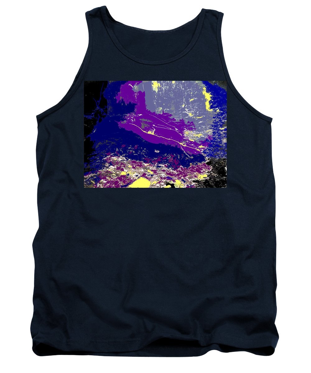 Rainforest Tank Top featuring the photograph Rainforest Shadows by Ian MacDonald