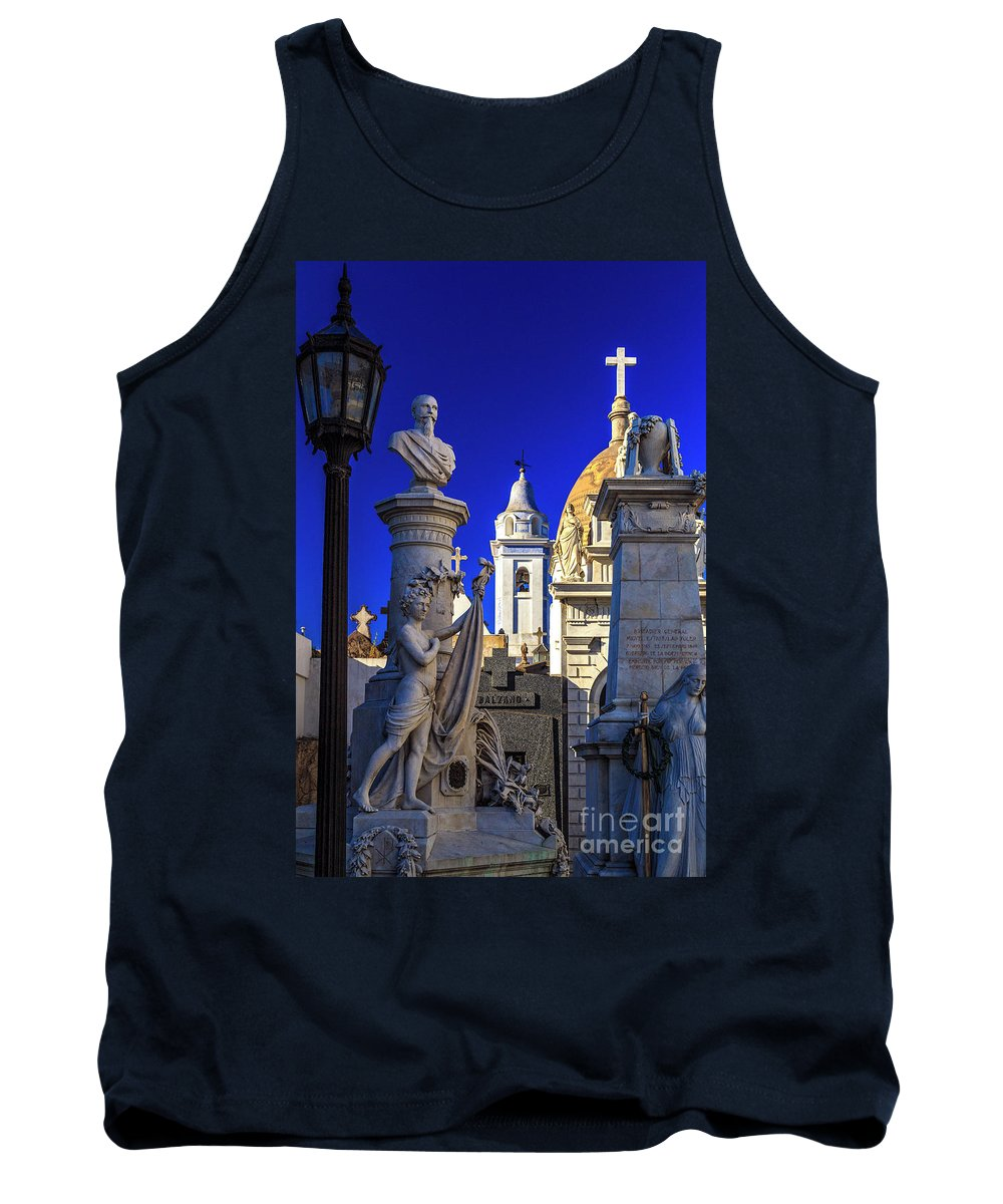 Tank Top featuring the photograph Recoleta 02 by Bernardo Galmarini