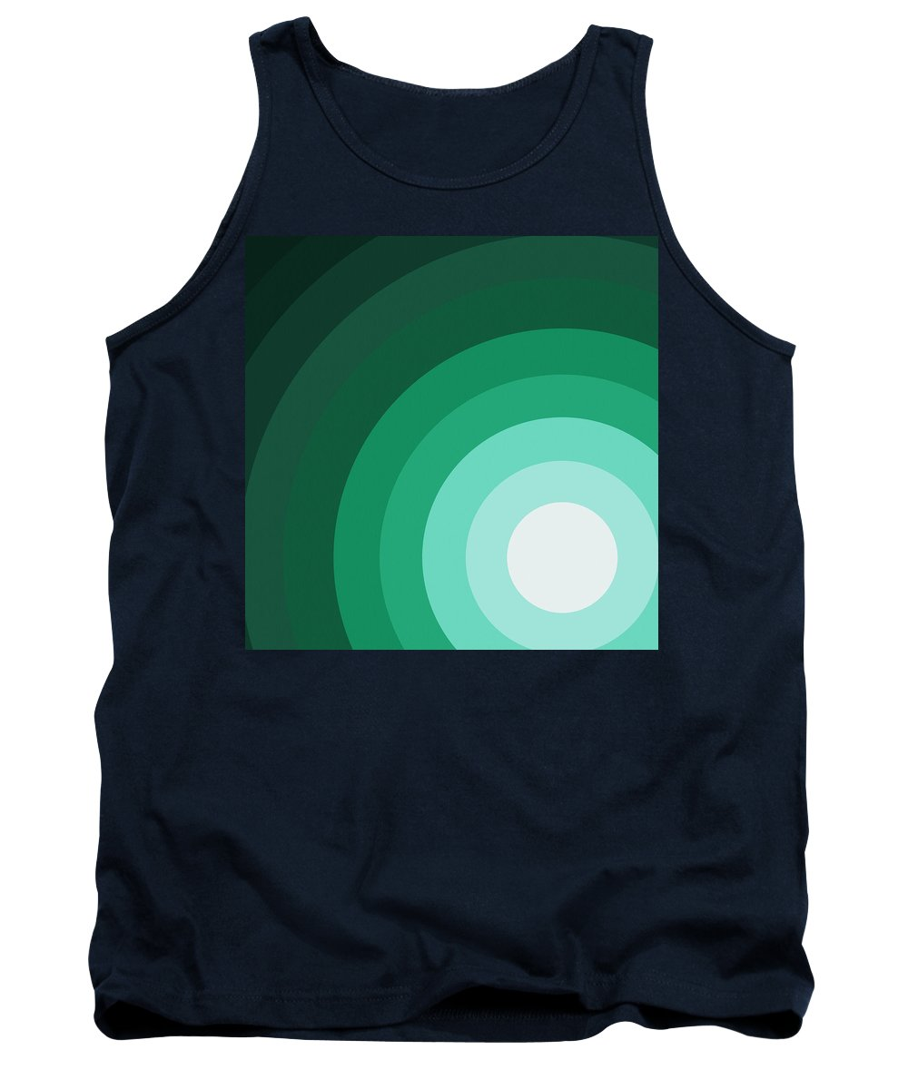 Surreal Tank Top featuring the painting Rist Action by Oliver Johnston