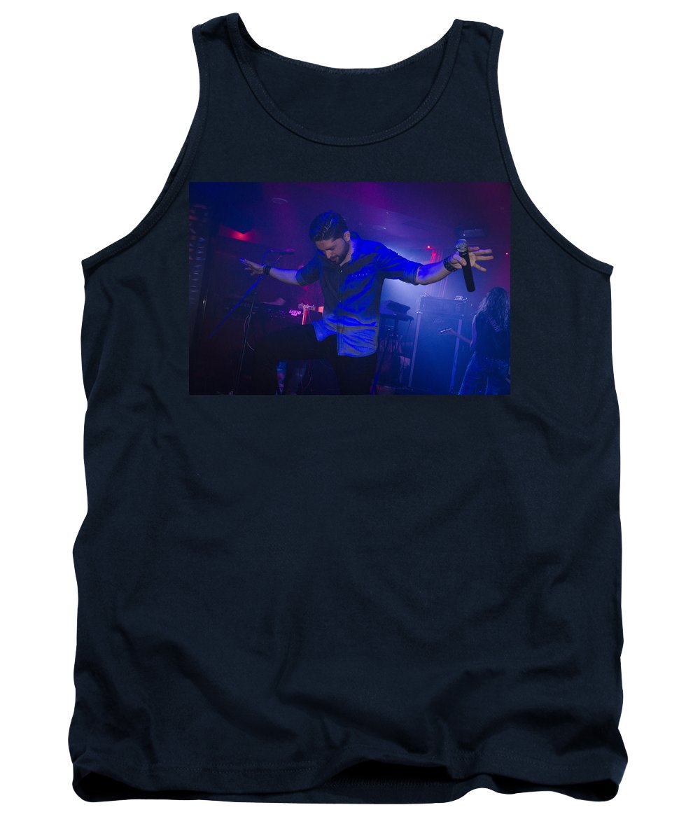 Ritchie Blackmore Tank Top featuring the photograph Ronnie Romero 32 by Pablo Lopez