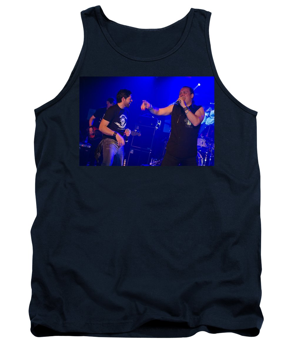 Ritchie Blackmore Tank Top featuring the photograph Ronnie Romero 55 by Pablo Lopez