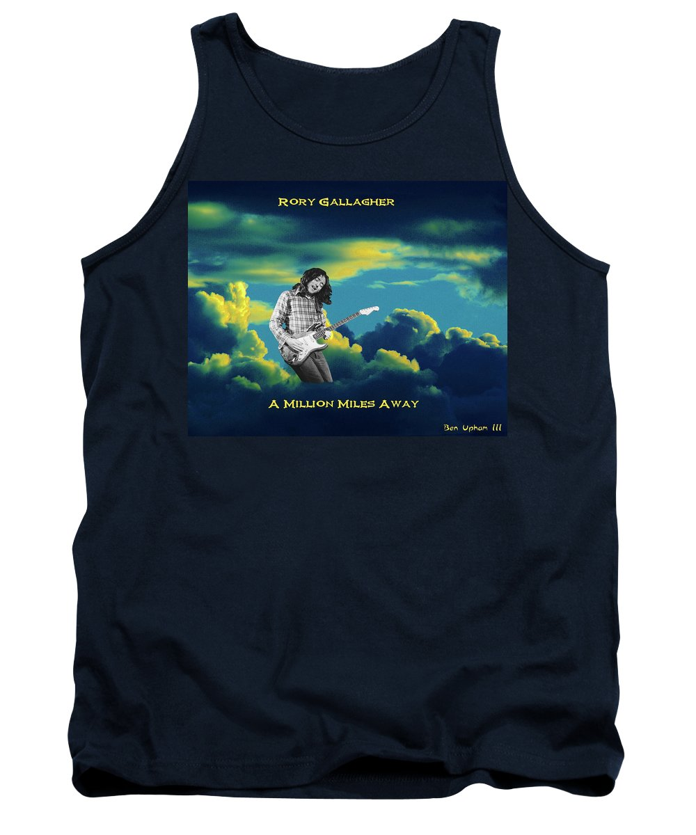 Rock Musicians Tank Top featuring the photograph Million Miles Away by Ben Upham