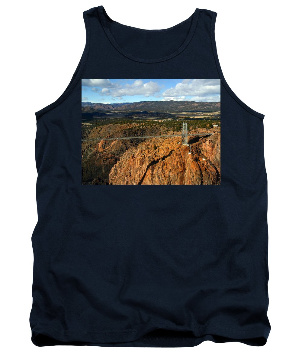 Royal Gorge Tank Top featuring the photograph Royal Gorge by Anthony Jones