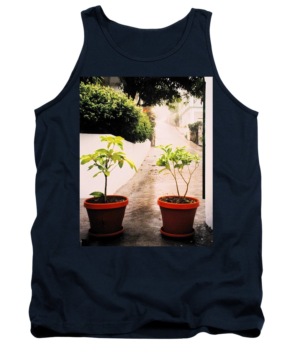 Saba Tank Top featuring the photograph Saba by Ian MacDonald