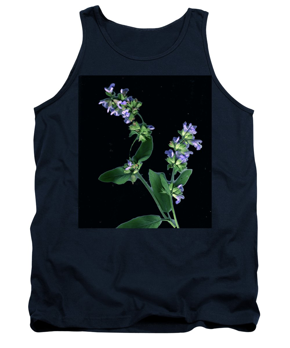 Tank Top featuring the photograph Sage Blossom by Wayne Potrafka