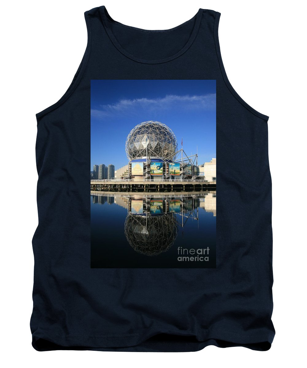 Science World Tank Top featuring the photograph Science World by Chris Dutton
