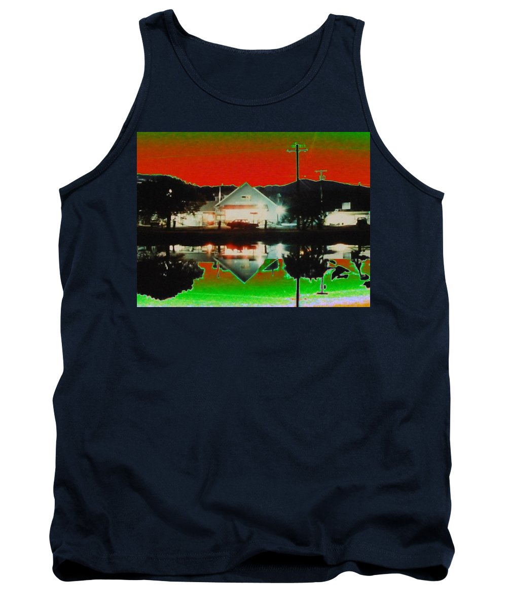Seabeck Tank Top featuring the photograph Seabeck General Store by Tim Allen
