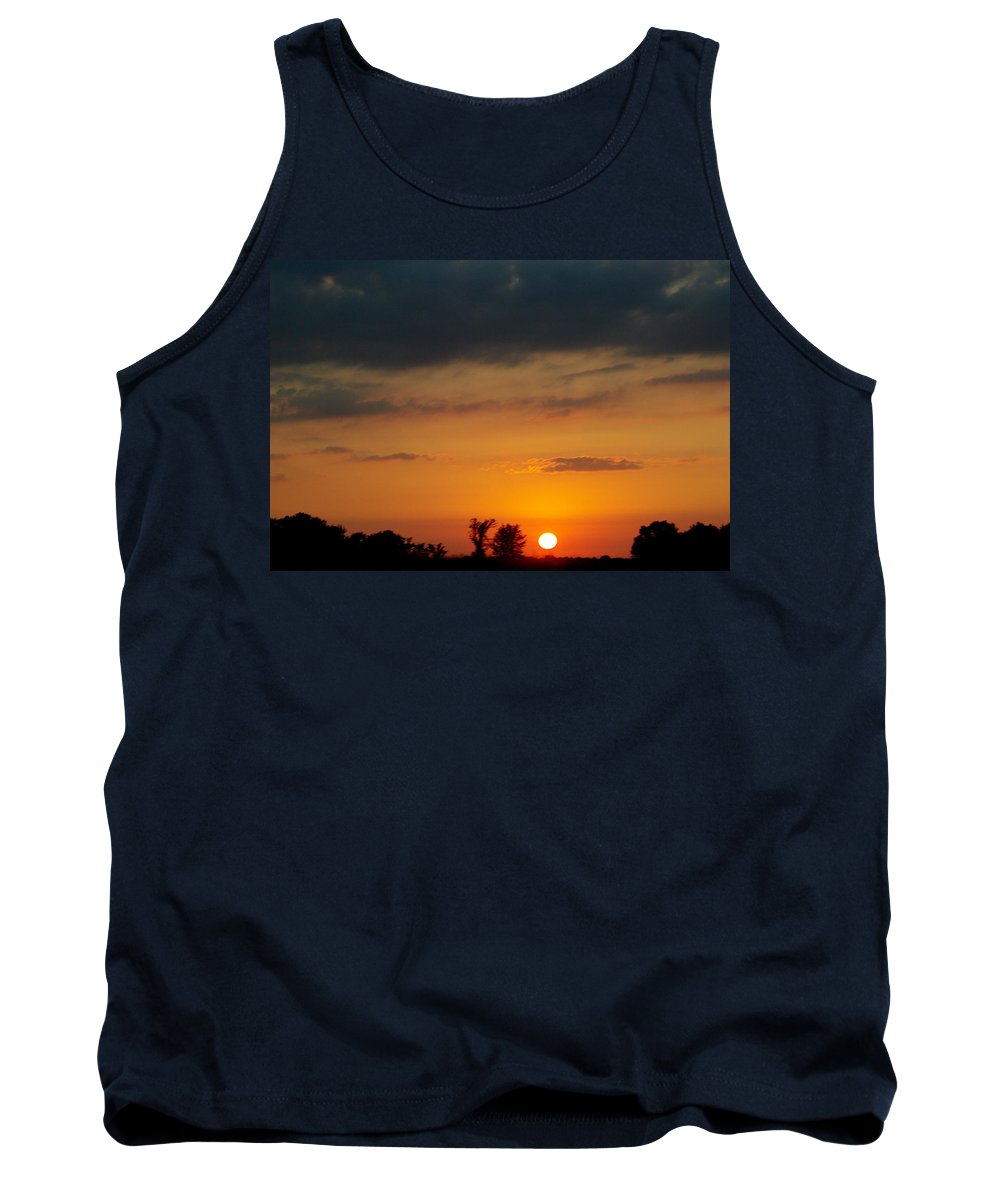 Tank Top featuring the photograph Serengeti Sunset by Jenny Gandert