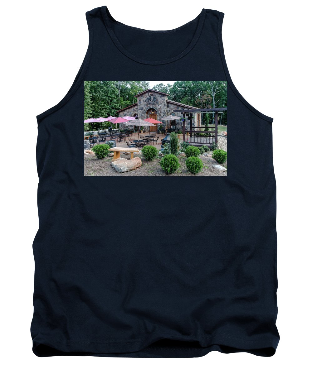 Wine Tank Top featuring the photograph Serenity Cellars Winery by Spencer Studios