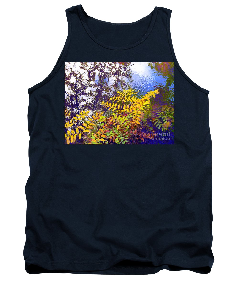 Water Tank Top featuring the photograph Shake It Off by Sybil Staples