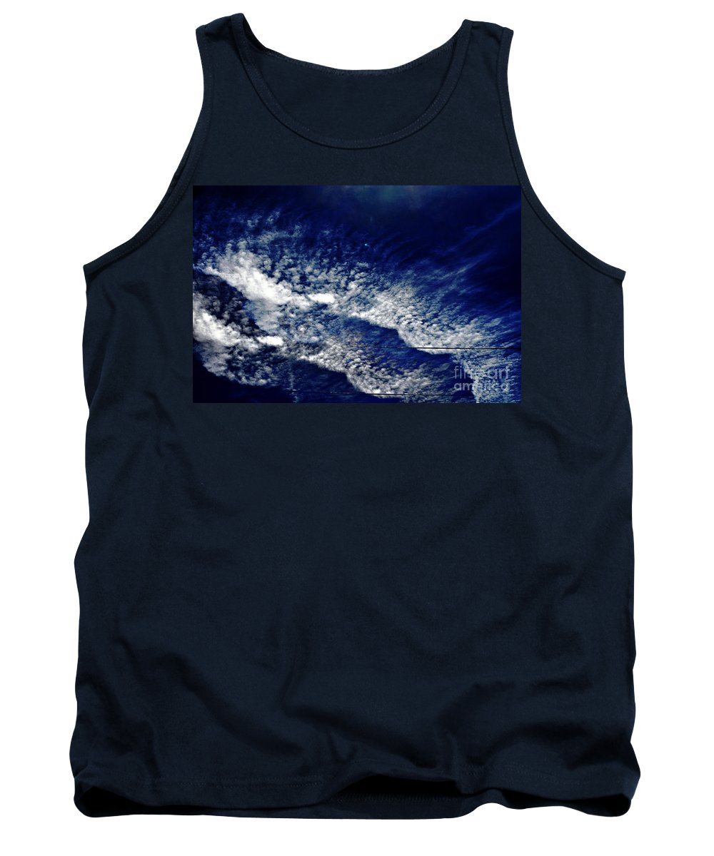Clay Tank Top featuring the photograph Sky Emulating The Sea by Clayton Bruster