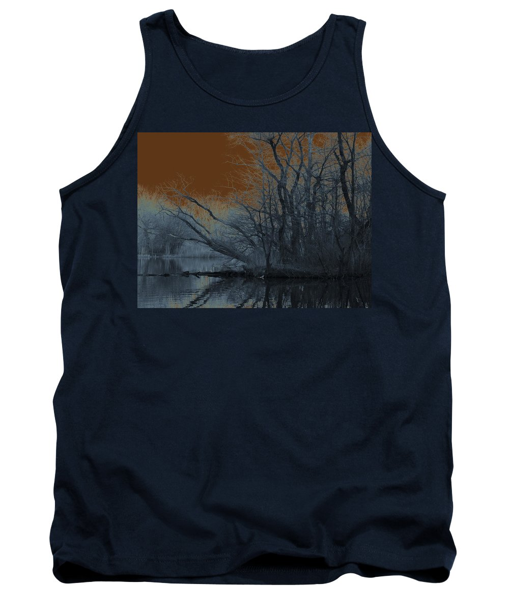 Solarization Tank Top featuring the photograph Solarization by Kendall Eutemey