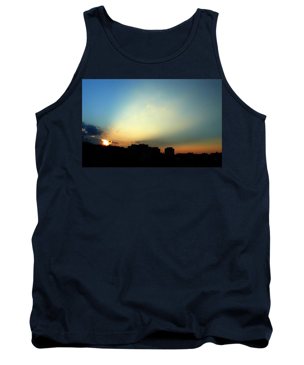 Nature Tank Top featuring the photograph Spotlight by Daniel Csoka