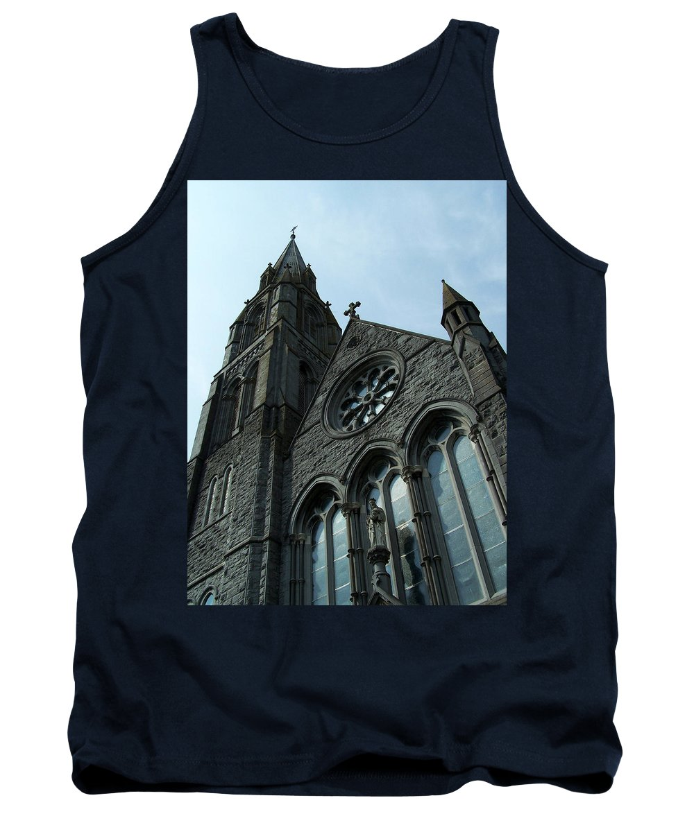 Ireland Tank Top featuring the photograph St. Mary's Of The Rosary Catholic Church by Teresa Mucha