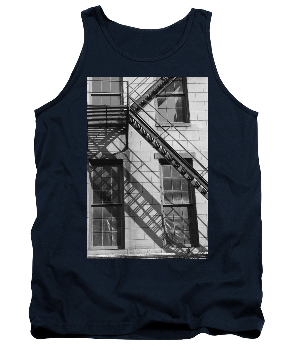 Stairs Tank Top featuring the photograph Stair Shadows by Lauri Novak