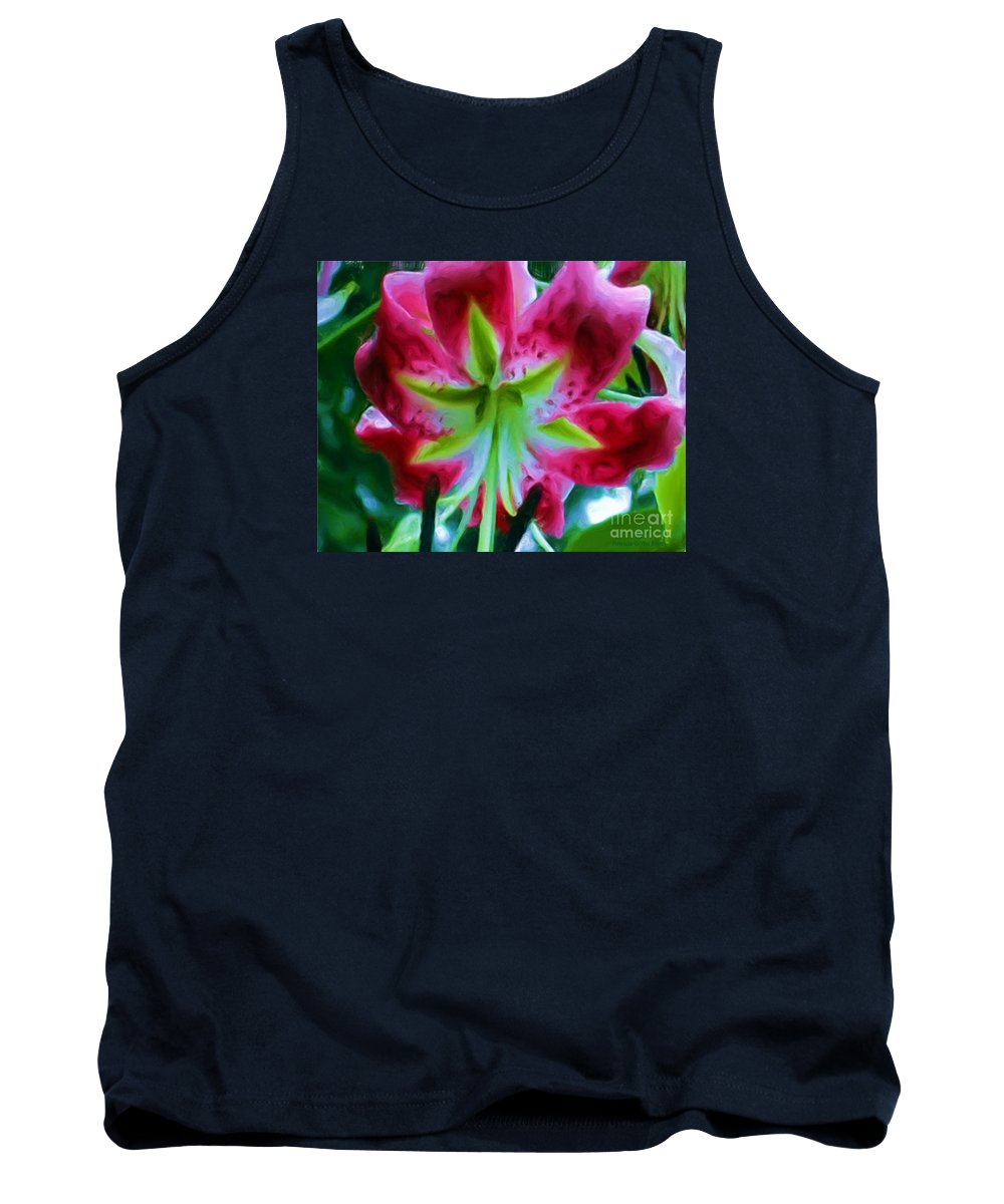 Fine Art Photography Tank Top featuring the photograph Stargazer by Patricia Griffin Brett
