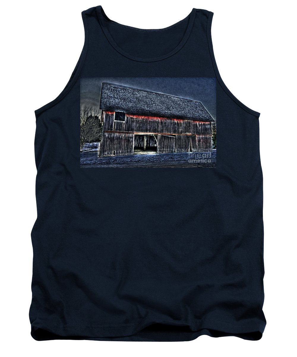 Country Tank Top featuring the photograph Still In The Sticks Hdr by September Stone