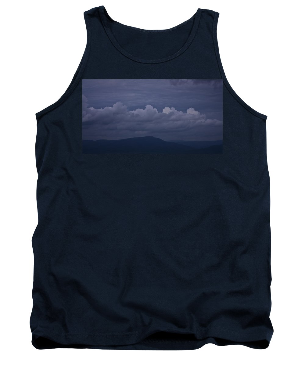 Roanoke Tank Top featuring the photograph Storm Clouds Over The Valley by Teresa Mucha