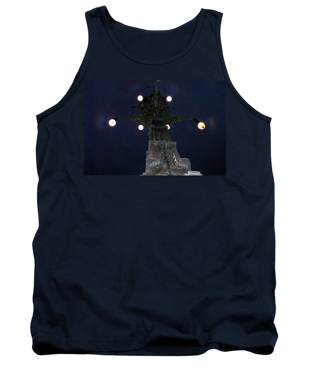 Night Tank Top featuring the photograph Strange Eyes by Stephen King