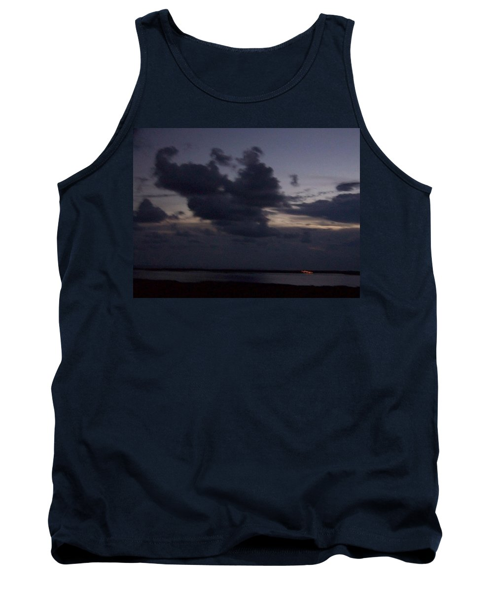 Sunset Over Estero Tank Top featuring the photograph Sunset 0005 by Laurie Paci