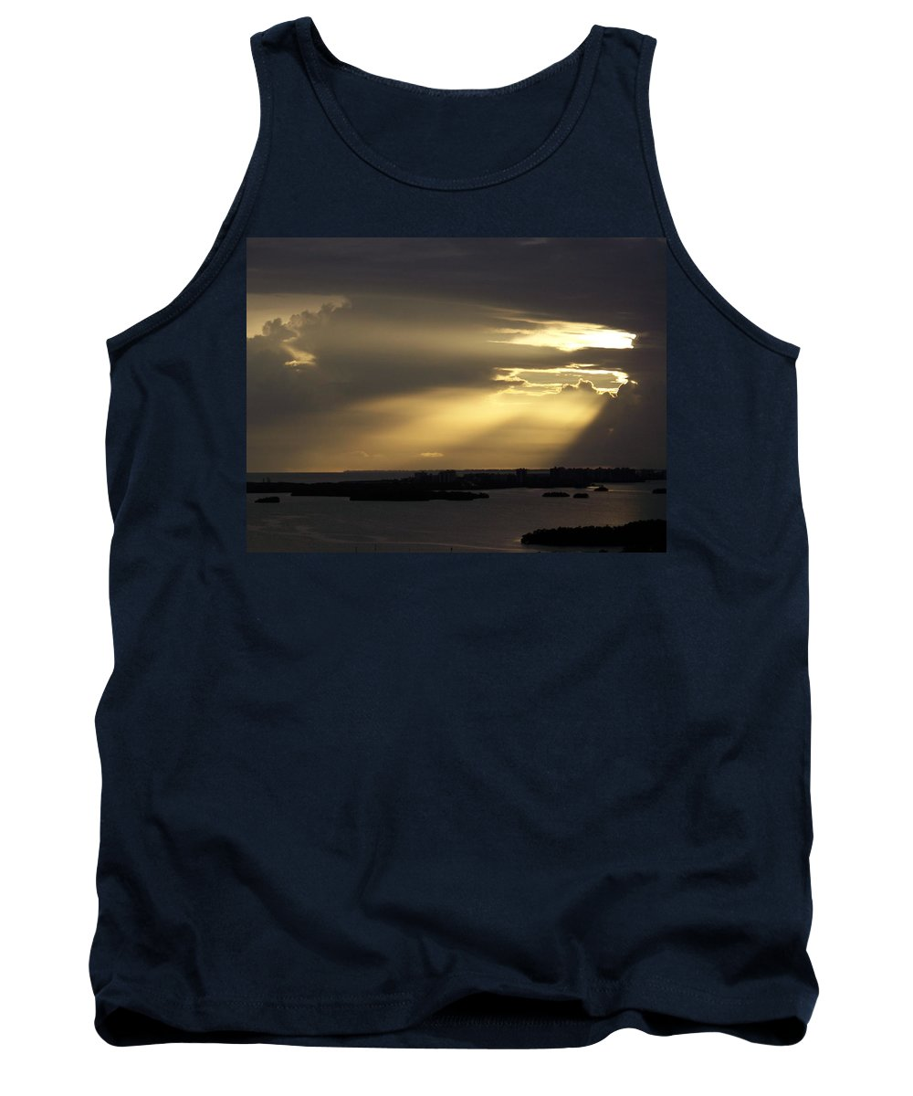 Sunset Over Estero Tank Top featuring the photograph Sunset 0006 by Laurie Paci