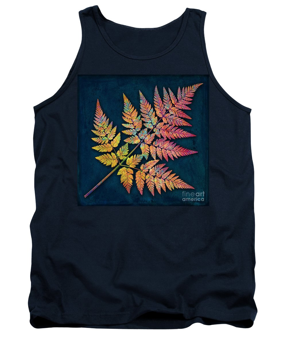 Leaf Tank Top featuring the photograph Sweet Cicely by Digital Crafts