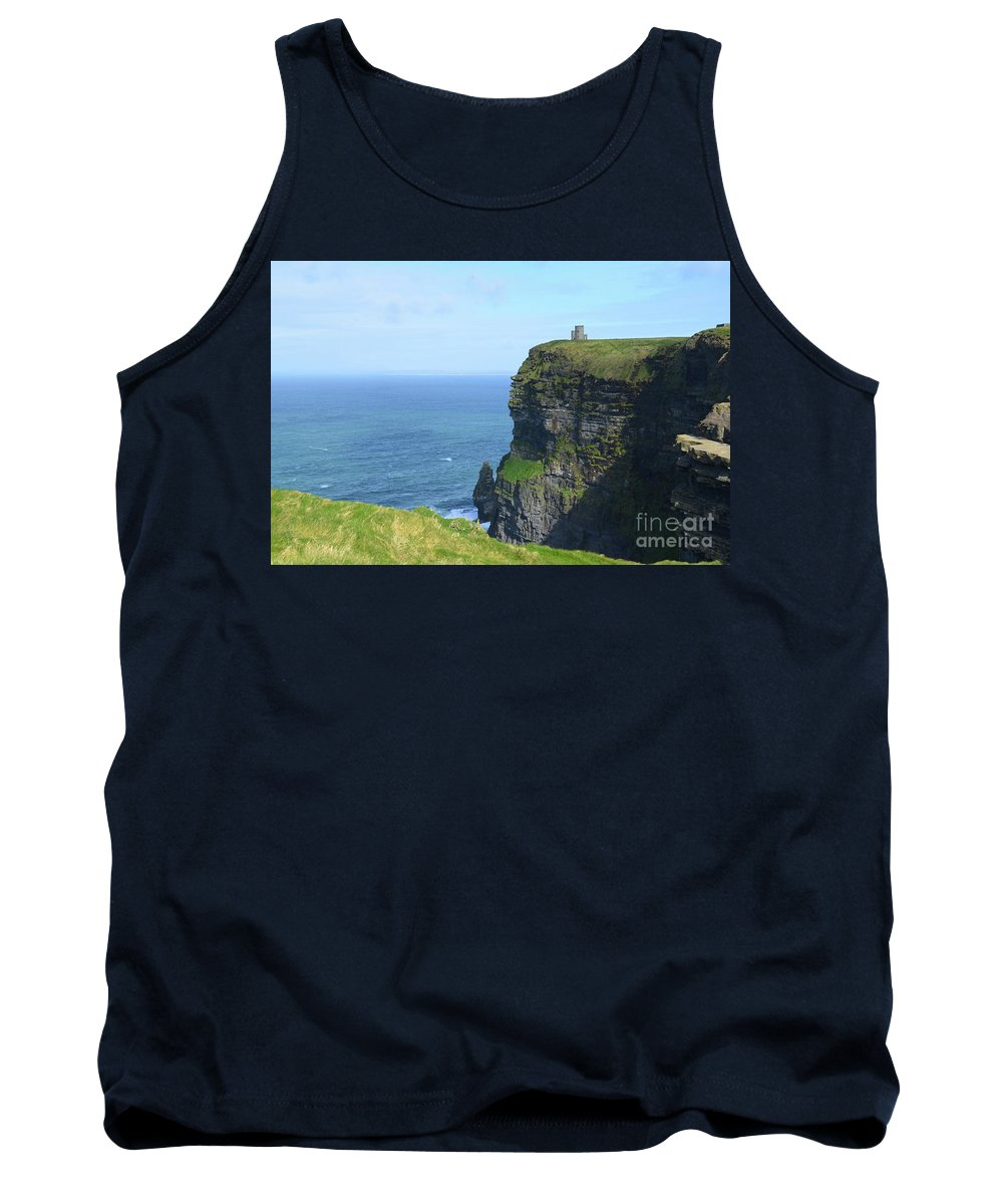 Cliffs-of-moher Tank Top featuring the photograph The Beauty Of Ire'land's Cliff's Of Moher In County Clare by DejaVu Designs