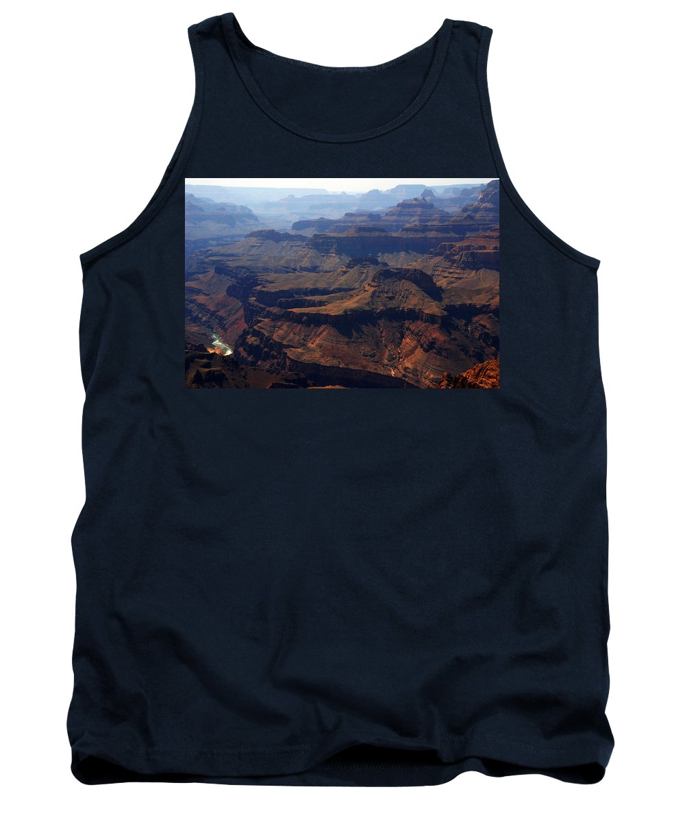 Colorado River Tank Top featuring the photograph The Colorado River by Susanne Van Hulst