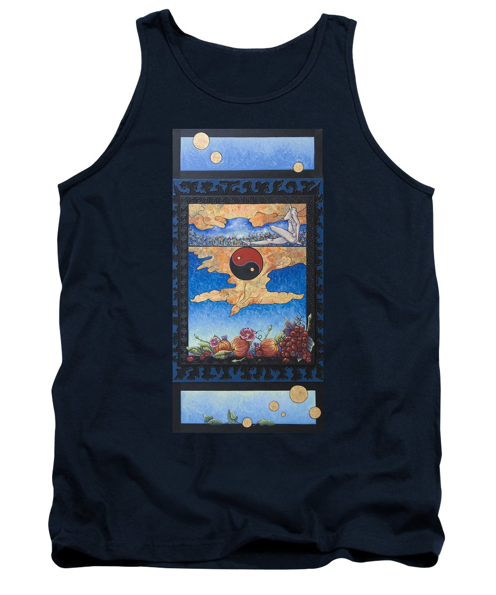 Karma Tank Top featuring the painting The Dream by Judy Henninger